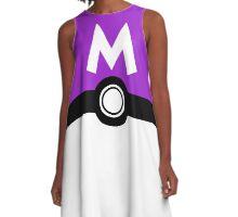 Poké ball GO! MASTER BALL A-Line Dress