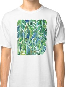 Split Leaf Philodendron – Green Classic T-Shirt