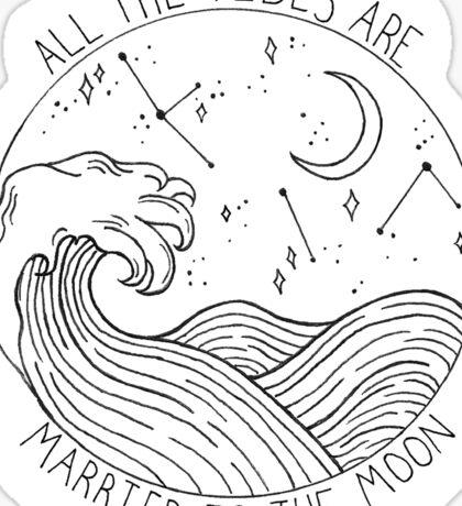 Brand New Mene Design Sticker
