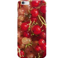 New crop of red and white currant iPhone Case/Skin