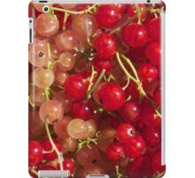 New crop of red and white currant iPad Case/Skin