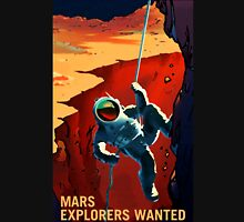 Explorers Wanted - NASA Recruitment Poster Unisex T-Shirt