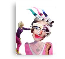 'The Art of Modelling' Canvas Print