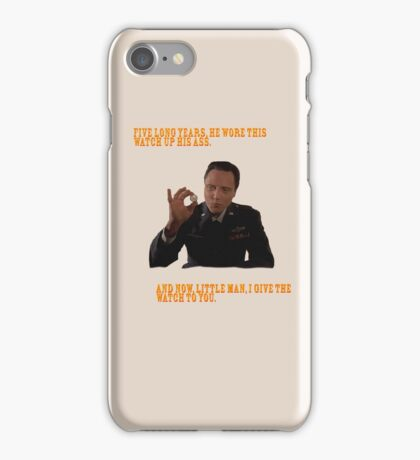 The Watch - Pulp Fiction iPhone Case/Skin