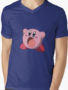 Kirby Mens V-Neck T-Shirt