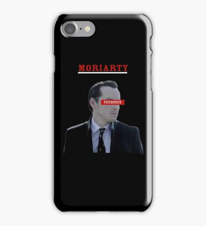 Moriarty - Psychopath iPhone Case/Skin