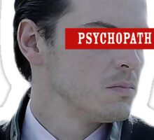 Moriarty - Psychopath Sticker
