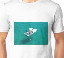 """Four fishermen, one catch"" Unisex T-Shirt"