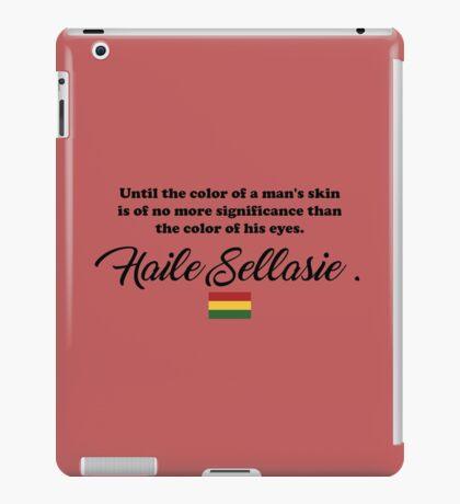 Haile Selassie/ Bob Marley iPad Case/Skin