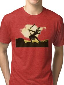 Lotte Reiniger wonderful Silhouette design!~ Tri-blend T-Shirt