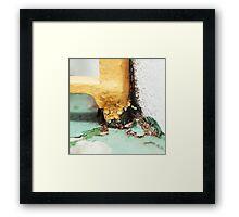 { Corners: where the walls meet #13 } Framed Print