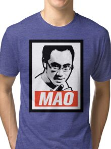 The Mao Point - Evolution 2014 Tri-blend T-Shirt
