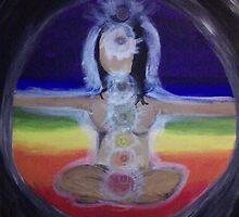 Chakra Yogi (Girl) by ickiskull