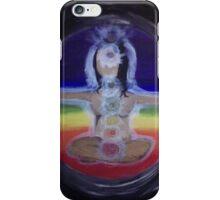 Chakra Yogi (Girl) iPhone Case/Skin
