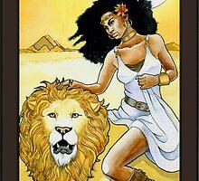 """Strength"" Tarot Card by WinonaCookie"