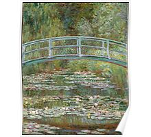 Claude Monet - Japanese Bridge at Giverny Poster