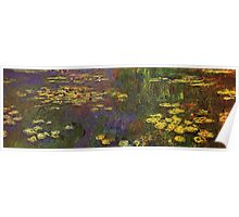 Claude Monet - Water Lilies Giverny Poster