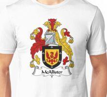 McAllister Coat of Arms / McAllister Family Crest Unisex T-Shirt