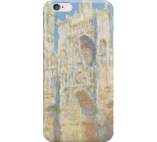Claude Monet - Rouen Cathedral iPhone Case/Skin