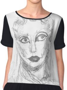 Lady Gaga - Marc Jacobs Fashion Show Chiffon Top