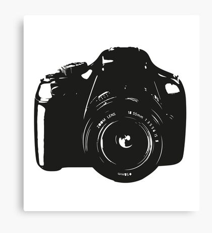 A Camera is a Way to Capture Moments Forever Canvas Print