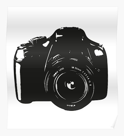 A Camera is a Way to Capture Moments Forever Poster