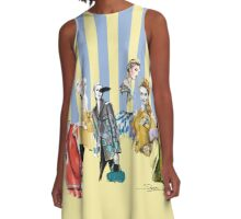 Illustrations  A-Line Dress