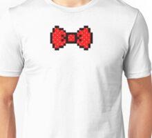 8 bit bow tie Unisex T-Shirt