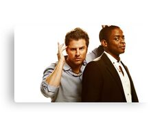 psych private psychic detective  Canvas Print