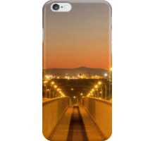Stockton Bridge Sunset iPhone Case/Skin