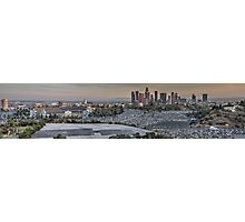 Dodger Stadium Panorama Photographic Print