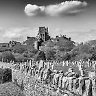 Corfe Castle, Dorset. UK by Pauline Tims