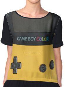 Gameboy Chiffon Top