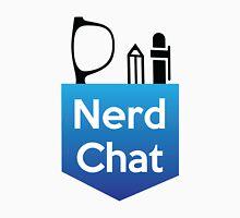 Nerd Chat Logo (White Lettering) Unisex T-Shirt