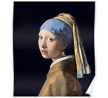 Vermeer - Girl with Pearl Earring Poster