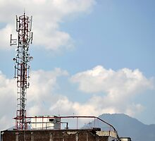 communication tower by bayu harsa