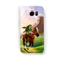 TLOZ Ocarina of Time - Hyrule Field Samsung Galaxy Case/Skin