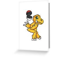 Digimon GO Greeting Card