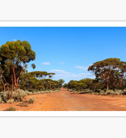 Red Road, Goldfields WA Australia   Sticker