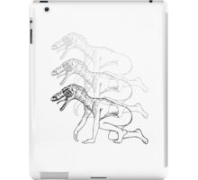 Humanoid Dinosaurs are Fun iPad Case/Skin