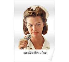 Medication Time Poster