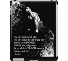 Change What Really Matters iPad Case/Skin