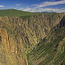 The Black Canyon of the Gunnison by Tamas Bakos