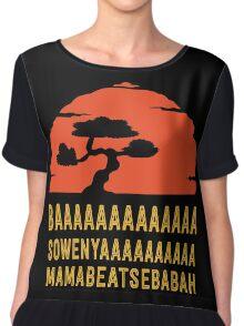 BAAAAAAAAAAAAA SOWENYAAAAAAAAAA MAMABEATSEBABAH Tee Shirt Chiffon Top