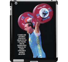 The Ultimate Expression Of Happiness And Victory iPad Case/Skin