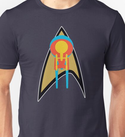Star Trek - Enterprises & Logo Unisex T-Shirt