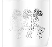 Humanoid Dinosaurs are Fun 2 Poster