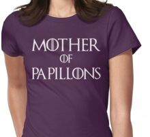 Mother of Papillons Dog T Shirt Womens Fitted T-Shirt