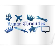 Lunar Chronicles Icons Poster