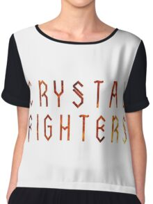 CRYSTAL FIGHTERS Chiffon Top